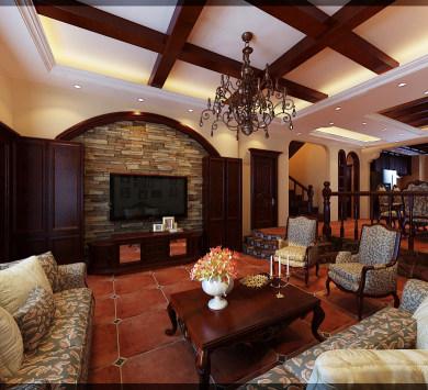 保利十二橡树270㎡别墅欧式风格
